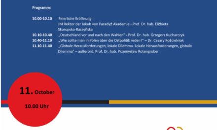 Eröffnungsseminar der Tätigkeit  des Regionalen Zentrums für Internationale Debatte in der Lubliner Woiwodschaft