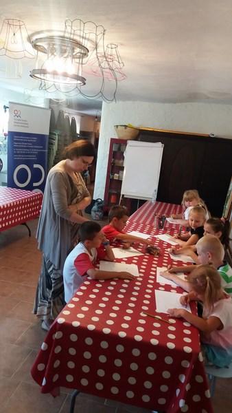 Zajęcia w Ośrodku Pomocy Społecznej w Górzycy