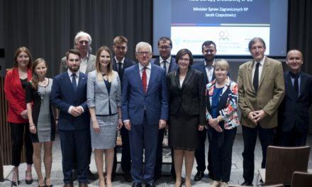 Konsultacje z udziałem Ministra Spraw Zagranicznych Jacka Czaputowicza