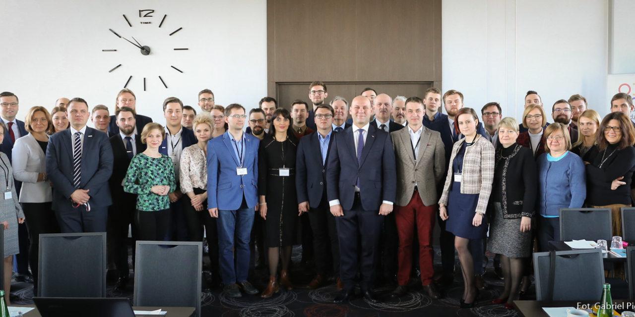 Spotkanie koordynatorów i konsultantów Regionalnych Ośrodków Debaty Międzynarodowej.