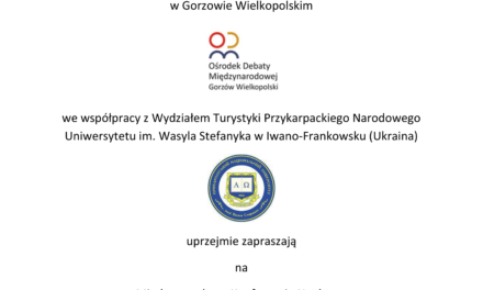 """Międzynarodowa Konferencja Naukowa"""" Dziedzictwo kulturowe pogranicza"""""""