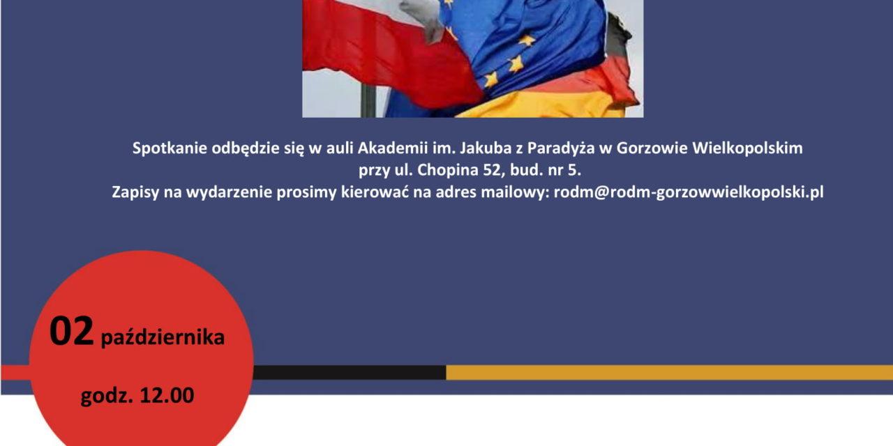 """Debata: """"Osiągnięcia polskiej polityki zagranicznej w latach 2015-2019"""" """"Relacje Polsko – Niemieckie"""""""