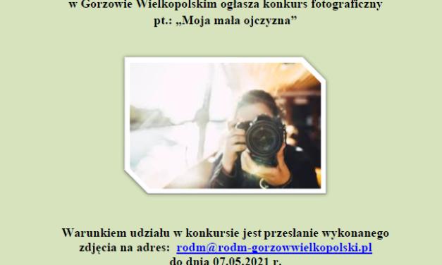 Uwaga !!! konkurs fotograficzny