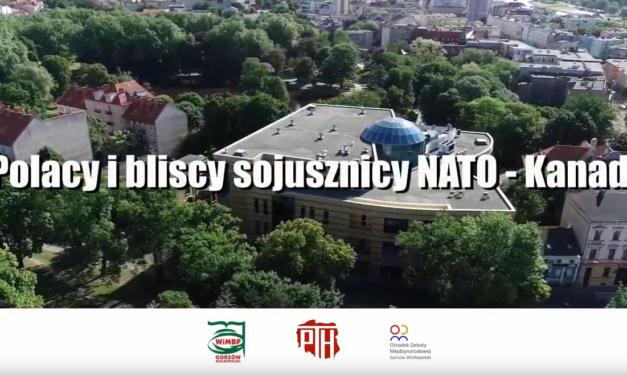 Lubuskie Rozmowy u Herberta – odc. 19 Polacy i bliscy sojusznicy w NATO – Kanada.